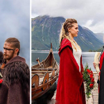 Couple Got Married In First Traditional Viking Wedding For Almost 1000 Years