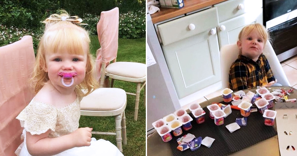 Dad Leaves Daughter, 3, For 10 Minutes And She Devours All 18 yoghurts