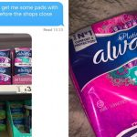 Dad Sent To Buy Sanitary Pads For Daughter Replied With Most Dad Question Ever