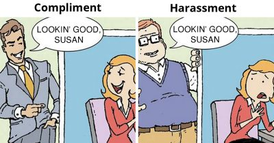 35 Honest Illustrations That Show The Double Standards In Our Society