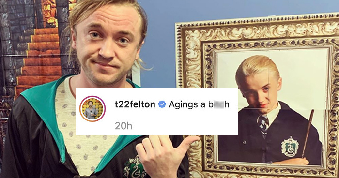 Harry Potter's Tom Felton And Matthew Lewis Have Very Different Views On Aging