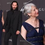 Keanu Reeves Goes Public With His First GF In Decades