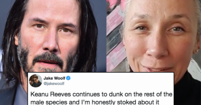 People Are Praising Keanu Reeves For Dating An Age-Appropriate Woman