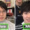 Japanese Barber Portrays How Much Of A Difference A Good Haircut Can Make
