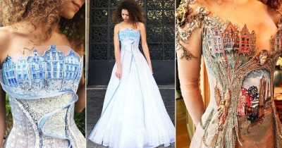 French Designer Makes Stunning Dresses That Look Straight Out Of Fairy Tales