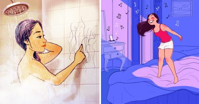 17 Illustrations That Show The Beauty Of Living By Yourself