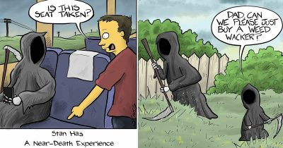 Artist's 27 Hilarious One-Panel Comics With A Dark Humor
