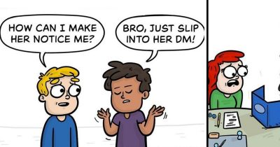 Artist's 25 Comics With Funny Plot Twists For You Bored Ones