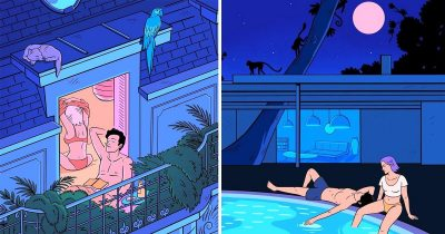 Artist Illustrates Awesome Life With Girlfriend That Everyone Wants To Live