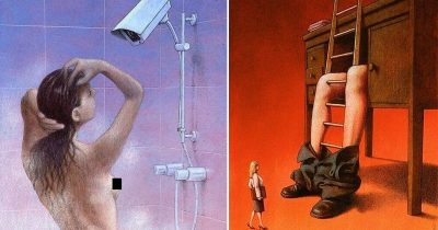 Artist's 20 Meaningful Illustrations With An Ironic Twist