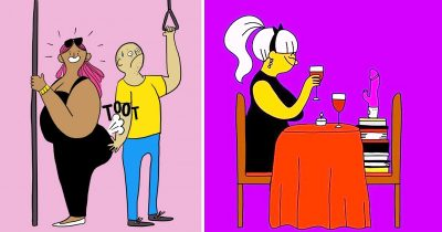 25 Hilarious Illustrations About Women Who Enjoy Life Being Their True Selves
