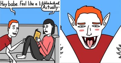 Artist's 30 Hilarious Comics For Those Feeling 'Not Quite Right'