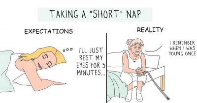 Artist's 30 Most Relatable Comics Show The Struggles Of A Girl With Anxiety
