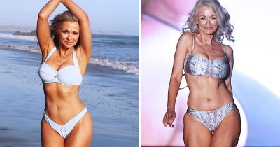Model Hits The Runway At 57 And Encourages Women Never Give Up On Dreams