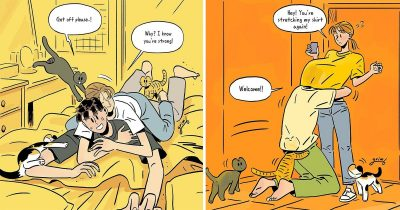 Korean Artist's 23 Beautiful Comics About Everyday Life With His Girlfriend