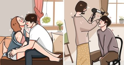 Artist Draws Her Love Life With BF That Everyone Wants To Live