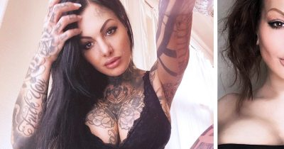 7 Tattoo Models Show What They Looked Like Before They Got Inked